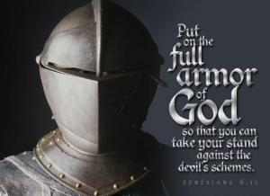 armor of God  Put it on
